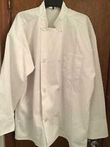 Unisex White Chef Jacket XL