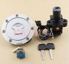 Ignition Switch Lock Gas Cap Set Lock Key for Honda CBR900 1992-1997