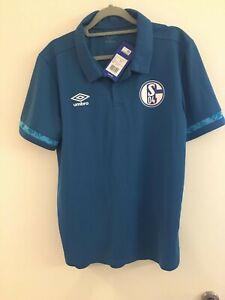 Schalke Polo Shirt Größe XL Neu Saison 20/21