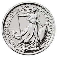 2017 Great Britain 1 oz Silver Britannia 20th Anniversary Trident Privy SKU46317