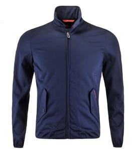 Kappa Men's Barracuda Jacket Zip Up Logo Jacket - Navy - New