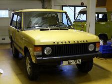 RANGE ROVER CLASSIC 3.5l V8 Bj 1975 BAHAMA GOLD ORIGINAL LEDER OVERDRIVE DEUTSCH