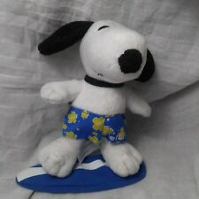 Metlife Met Life Surfing Snoopy Yellow Blue Surf Shorts Open Good Condition