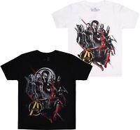 Marvel - Avengers - Infinity War Group of Heroes Boys Kids T-Shirt  - AGE 7-12