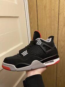 "Jordan 4 Retro ""Bred"" Size 8"