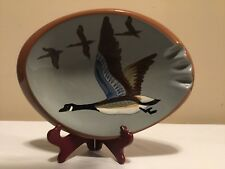 Vintage Stangl Pottery Ashtray -Canada Goose 3926G