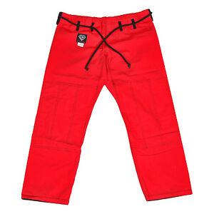 KO Sports Gear's Red Gi Pants - Rip Stop - For Jiu Jitsu