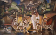 The Bathers  by Albert Gleizes  Giclee Canvas Print Repro