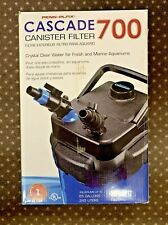 Penn Plax Cascade 700 Aquarium Canister Filter for tank up to 65 gallons NEW