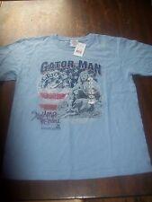 New Swamp People Gator Man Bruce & Tyler Shirt T-Shirt YL Youth Large