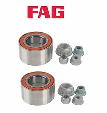 *PAIR OEM FAG Front Wheel Bearing Kit For VW Mk4 Golf GTI Jetta Beetle A4