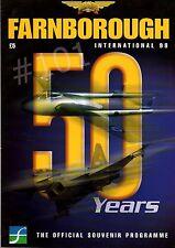 F-22 RAPTOR Cutaway ... FARNBOROUGH International 98 Souvenir Programme 50 Years