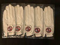 5-PACK Cabretta Men's Golf Glove Size ML