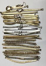 A LOT OF 25pcs LADIES WATCH BANDS GOLD FILLED 190.9gr. 3/1#3