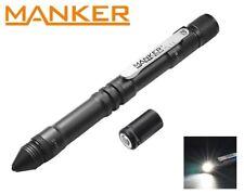 New Manker PL11 (White) USB Recharge Cree XP-G3 120LM LED Penlight Flashlight