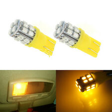 20SMD LED 12V T10 W5W 194 168 501 Car Auto Side Wedge Light Bulb Amber CHI