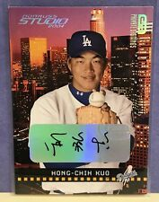 HONG-CHIH KUO Auto 2004 Studio Private Signings Rookie Autograph SP/250 Dodgers