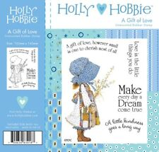 NUOVO HOLLY HOBBIE Unmounted timbro un regalo d'amore