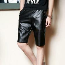 Leather Shorts New Hot Men Genuine Lambskin Sports Gents Pants - MS11