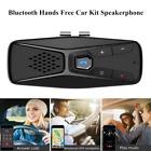 Bluetooth 5.0 Car Kit Speakerphone Hands Free Sun Visor Clip Loud Speaker Phone