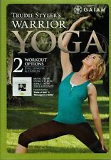 Warrior Yoga Express Workout Total Body Conditioning Strengthening Exercise DVD