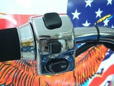 Indicator switch Fitting switch left Chrome 22mm Trike Cruizer Chopper