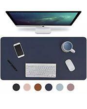"Knodel Desk Pad Office Desk Mat 35.4"" x 17"" PU Leather Desk Blotter Laptop De..."