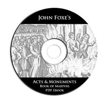 Foxes Acts & Monuments (Book of Martyrs) on CD-eBook-Christian Bible Commentary