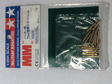 TAMIYA 35173 PANTHER BRASS 75MM PROJECTILES 1/35