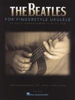 The Beatles for Fingerstyle Ukulele TAB Music Book 25 Solos