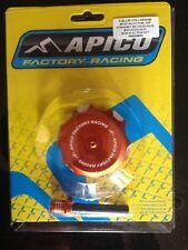 KTM   SX 50 1997-2018  APICO ALLOY FUEL PETROL CAP & VENT PIPE ORANGE