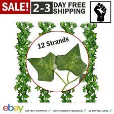Artificial Hanging Plant Leaf Fake Foliage Ivy Leaf Vine Garlands Leaves Decor