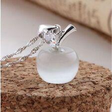Pink Fashion Women Pendant Necklace Jewelry Crystal Rhinestone Chain