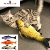 Gioco per Gatti Cat Toys Pesce Gioco Tiragraffi Dog 20cm Catnip Cuscino