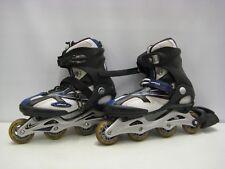 Hommes Airwalk Roller blades Rollers en ligne taille UK 9 Noir Bleu Blanc