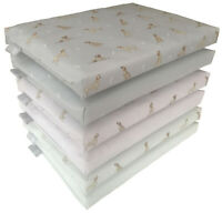Labrador Print Dog Bed Chew Resist Waterproof Puppy crate Pad Cushion Heavy Duty