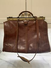 Floto Positano Leather Duffle Travel Bag or Briefcase