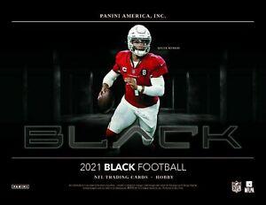 Jacksonville Jaguars - 2021 NFL Panini Black FOOTBALL 12 BOX CASE BREAK