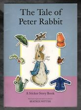 The Tale of Peter Rabbit - Beatrix Potter - Sticker Story Book - NEW - S/H Offer
