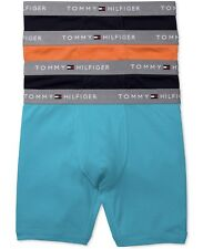 4 PACK TOMMY HILFIGER LIMITED ED BOXER BRIEFS CLASSIC - VAR COLORS  LARGE 36-38