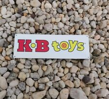 Kb Toys Classic Display Metal Sign 4x12 inches New 50211