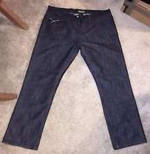 "BlueSnice 40x32 (30"" Inseam) Men's Jeans Dark Blue"