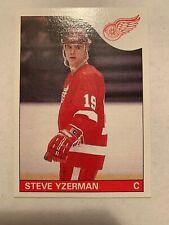 1985-86 Topps Steve Yzerman Sharp Corners Pack Fresh