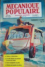 REVUE MECANIQUE POPULAIRE N° 089 TRANSBORDEUR BATEAU CAMION TURBO YACHTS 1953