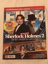 Total Film Magazine No.187 December 2011 - Sherlock Holmes 2 cover