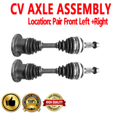 FRONT LEFT & RIGHT CV DRIVE AXLE SHAFT ASSEMBLY PAIR For CHEVROLET BLAZER K1500