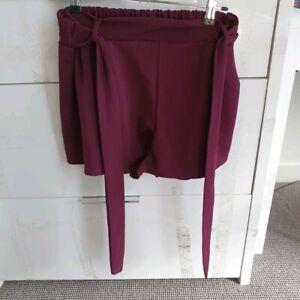 Comfortable purple shorts