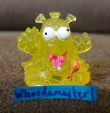 The Trash Pack Junk Germs Series 7 #1201 FRIDGE FUNGUS Yellow Mint OOP