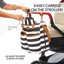 Diaper Bag - Changing Pad & Stroller Straps - for Boys and Girls