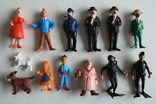 Tintin, Kuifje esso Belvision 1973, 13 figurines in mint condition!!